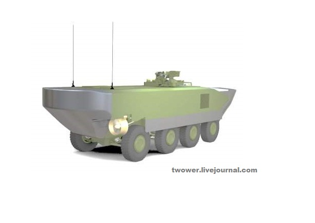 Боевая машина морской пехоты КАМАЗ