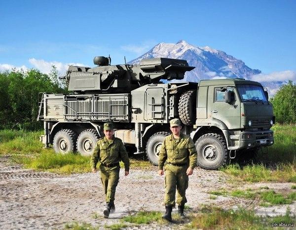 Зенитный ракетно-пушечный комплекс «ПАНЦИРЬ-С» на Камчатке
