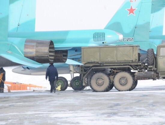 Су-34 новой постройки постройки