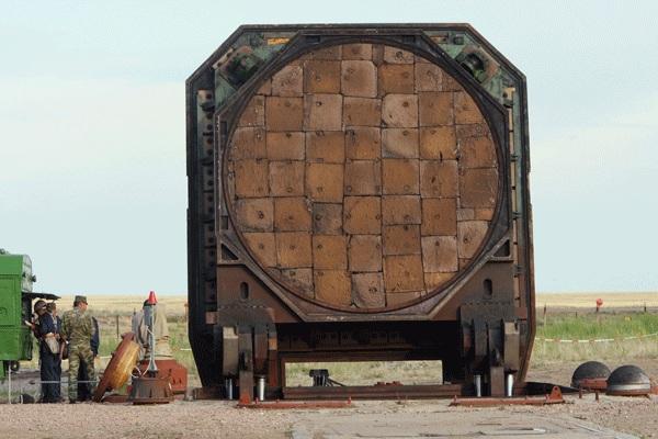 Крышка шахтной пусковой установки 15П718М
