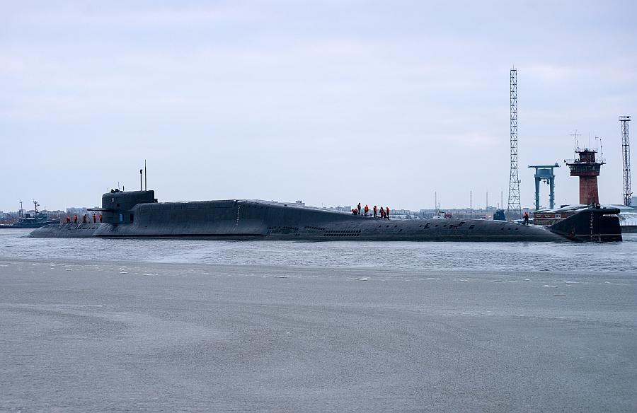 подводный ракетный крейсер Тула