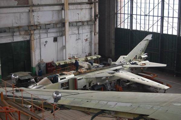 Су-24 на НАРП