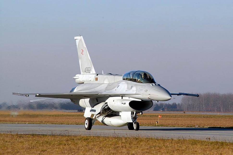 F-16 ВВС Польши