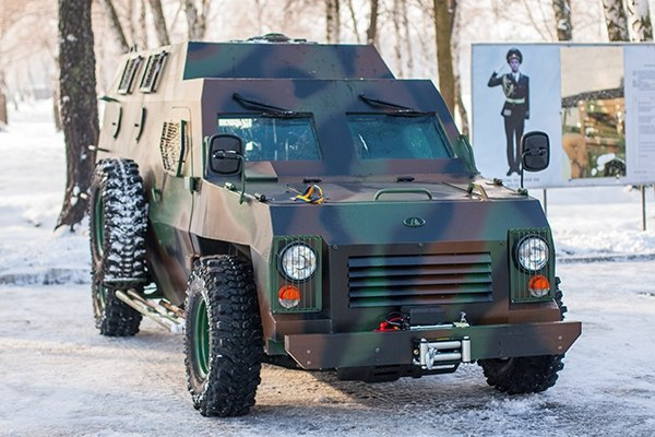 бронеавтомобиль Богдан