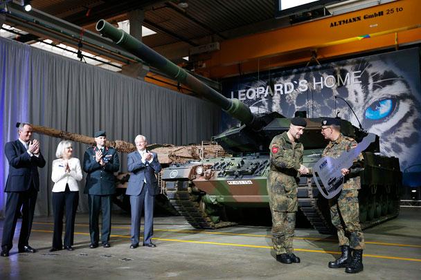 танк Leopard 2A7  Reuters