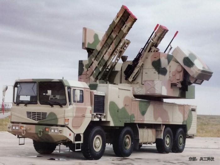 комплекс ПВО малой дальности FK-1000