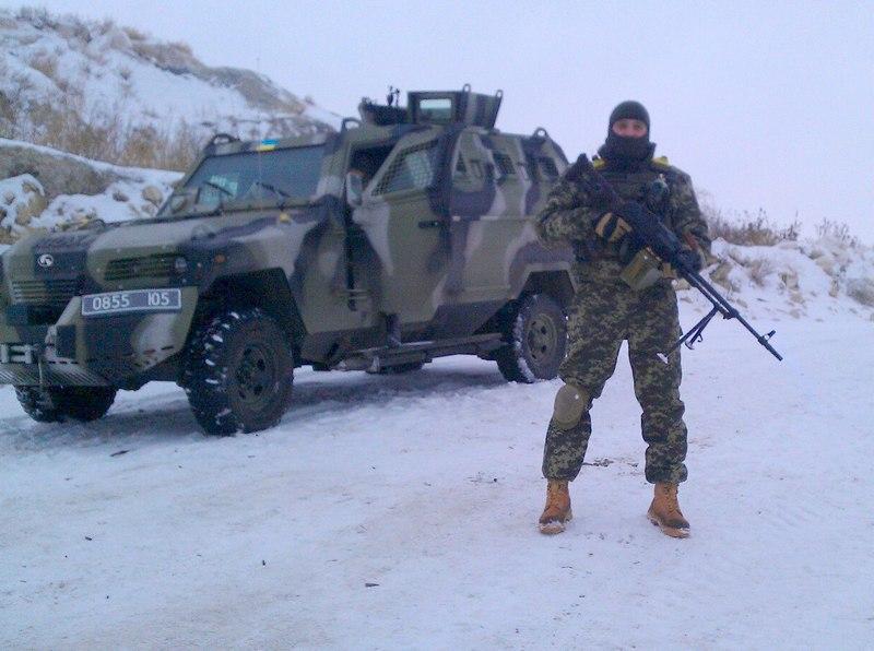 Кугуар ВСУ в Лисичанске