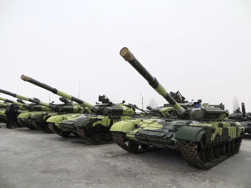 Танки ВС Украины