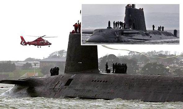 атомные подводные лодки Королевского военно-морского флота