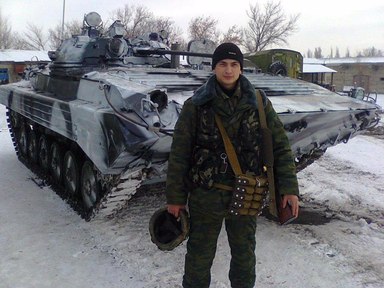 БМП-2 ВСН в Донецке