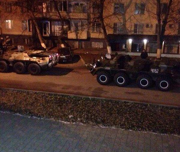 БТР-80 в Грозном