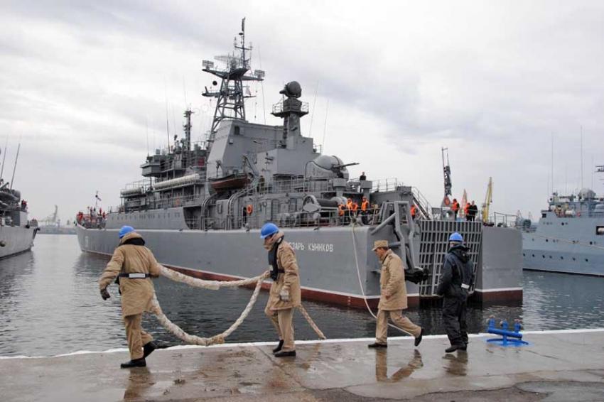 БДК Черноморского флота «Цезарь Куников»