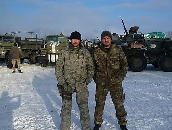 Николаевский десантник из 79-й отдельной аэромобильной бригады, известный по позывному «Маршал»