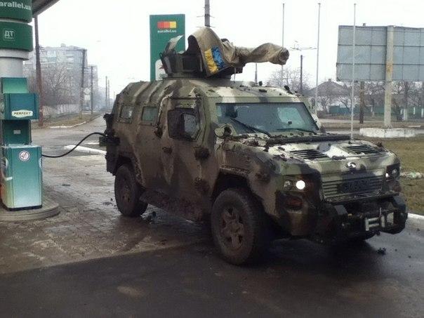 бронеавтомобиль КрАЗ Кугуар