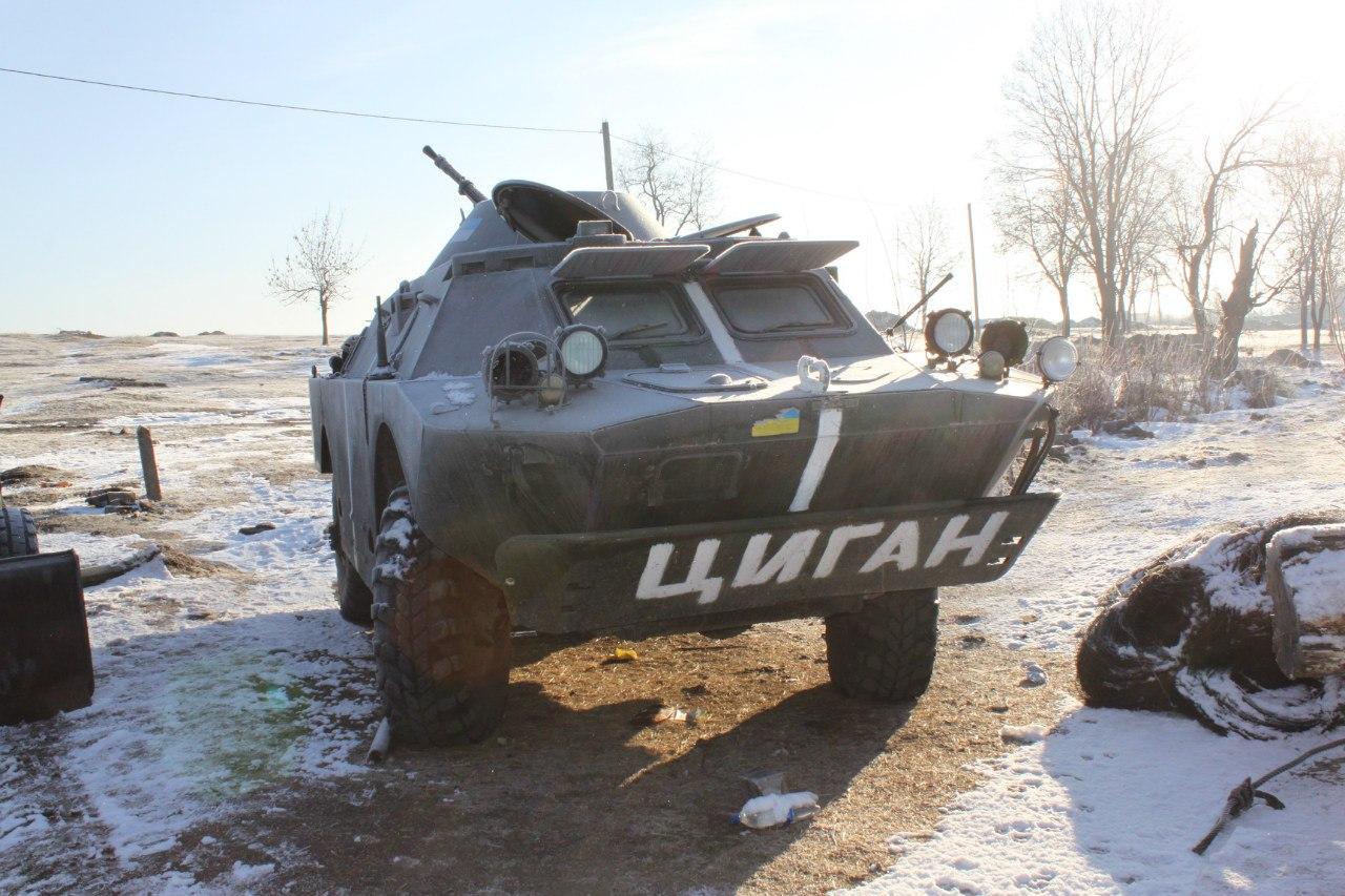 БРДМ-2 ВС Украины