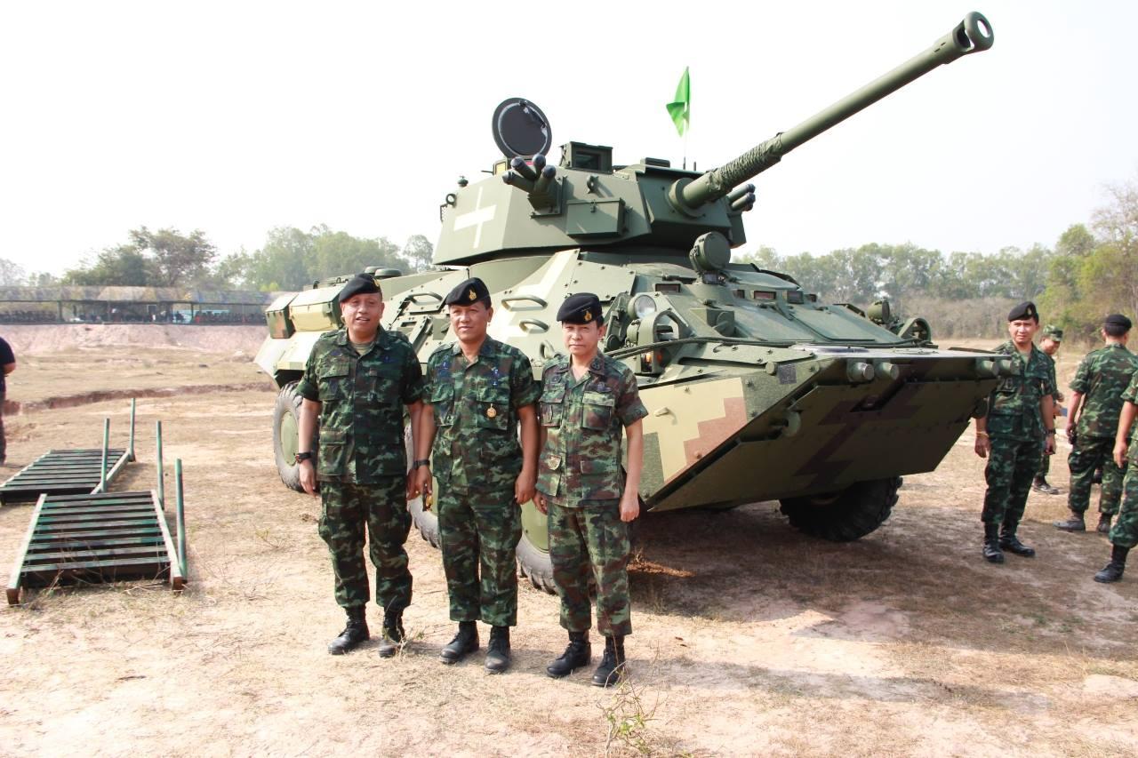 БТР-3E1 с 90мм пушкой