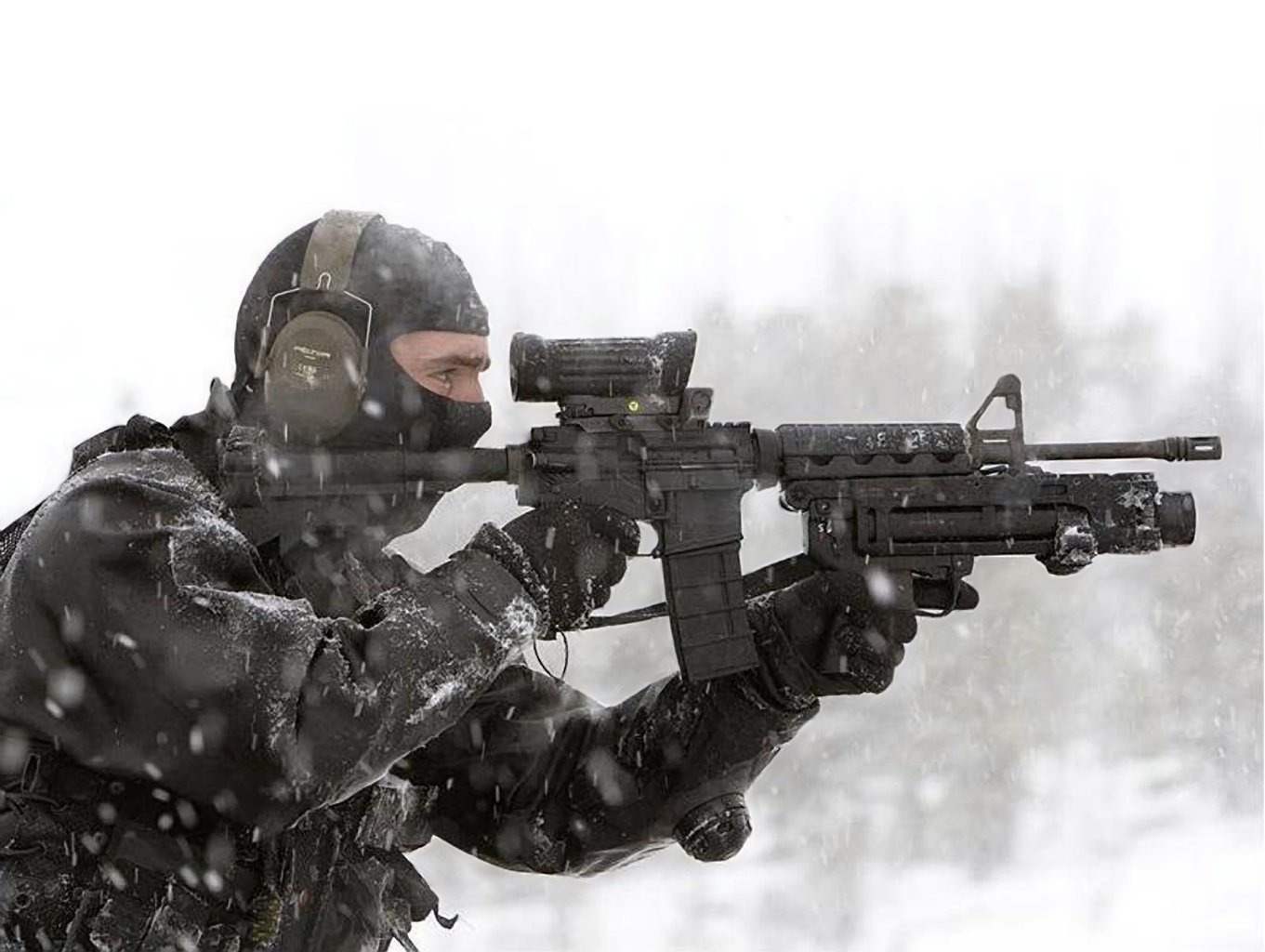боец SAS