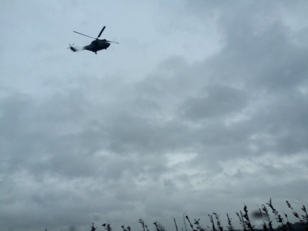 вертолет Пума ВС Франции