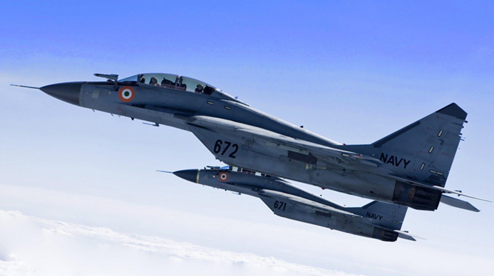 МиГ-29 ВМС Индии