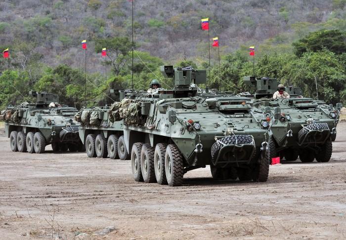 LAV-3 ВС Колумбии