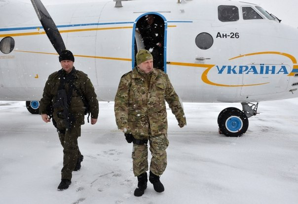 Александр Турчинов прибыл в зону АТО