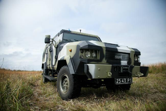бронеавтомобиль «Козак»