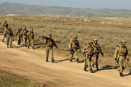 Армянские военные Фото: Karen Minasyan / AFP