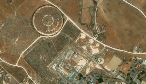 Спутниковое фото станции радиэлектронной разведки Айос-Николаос