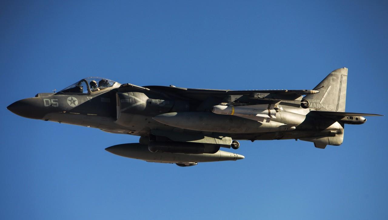 морской пехоты США AV-8B Harrier II