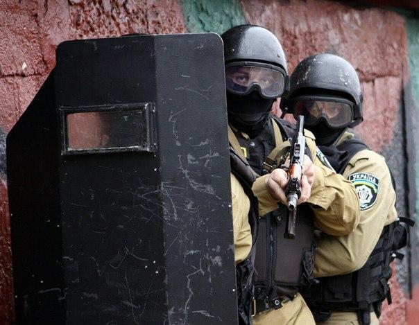 спецподразделение милиции