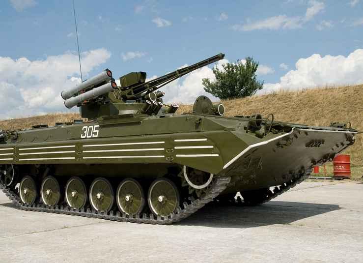 БМП-1 С БОЕВЫМ МОДУЛЕМ КБА-105ТБ «ШКВАЛ-А»