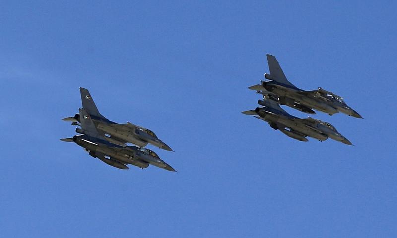F-16 ВВС Иордании