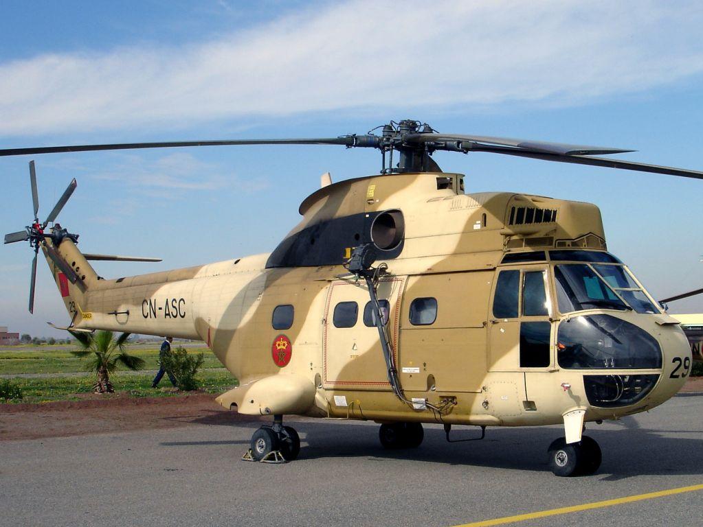 SA330 Puma ВС Марокко