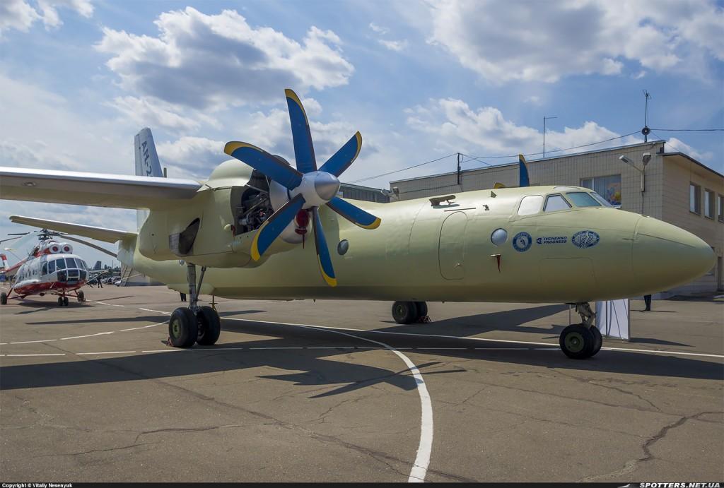 Ан-26МСБ. Завод 410 ЦА Фото Виталия Несенюка
