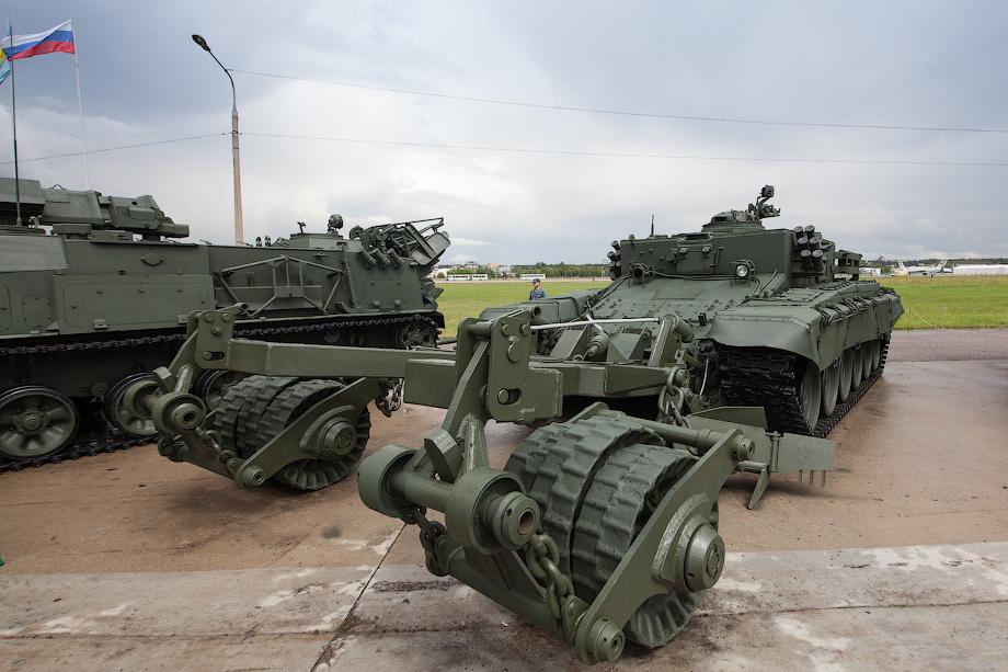 БМР-3М «Вепрь» бронированная машина разминирования