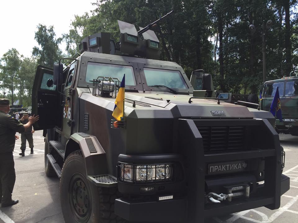 бронемашина «Козак-2»