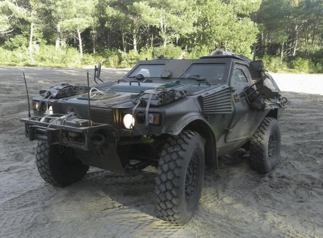Прототип VBL System Demonstrator французской модернизированной легкой бронированной машины Panhard Defense VBL (VBL Ultima) (c) Panhard Defense (via Jane's)