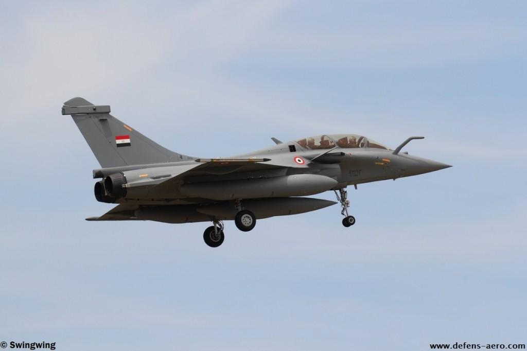 Первый построенный для ВВС Египта истребитель Dassault Rafale DМ (серийный номер DM02, предположительно строился как Rafale B с серийным номером В353). Истр, 15.07.2015 (с) Swingwing / www.defens-aero.com