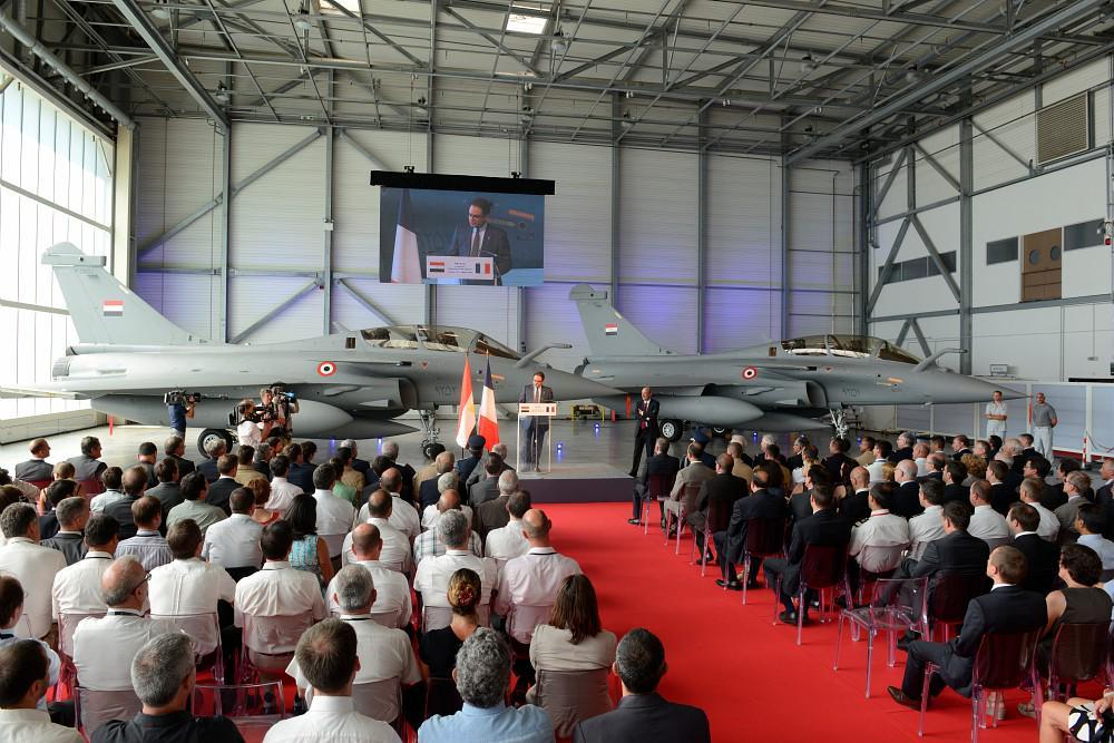 Передача ВВС Египта первых трех истребителей Dassault Rafale DM (серийные номера DM01, DM02 и DM03). Истр, 20.07.2015 (с) S.Rande / Dassault Aviation