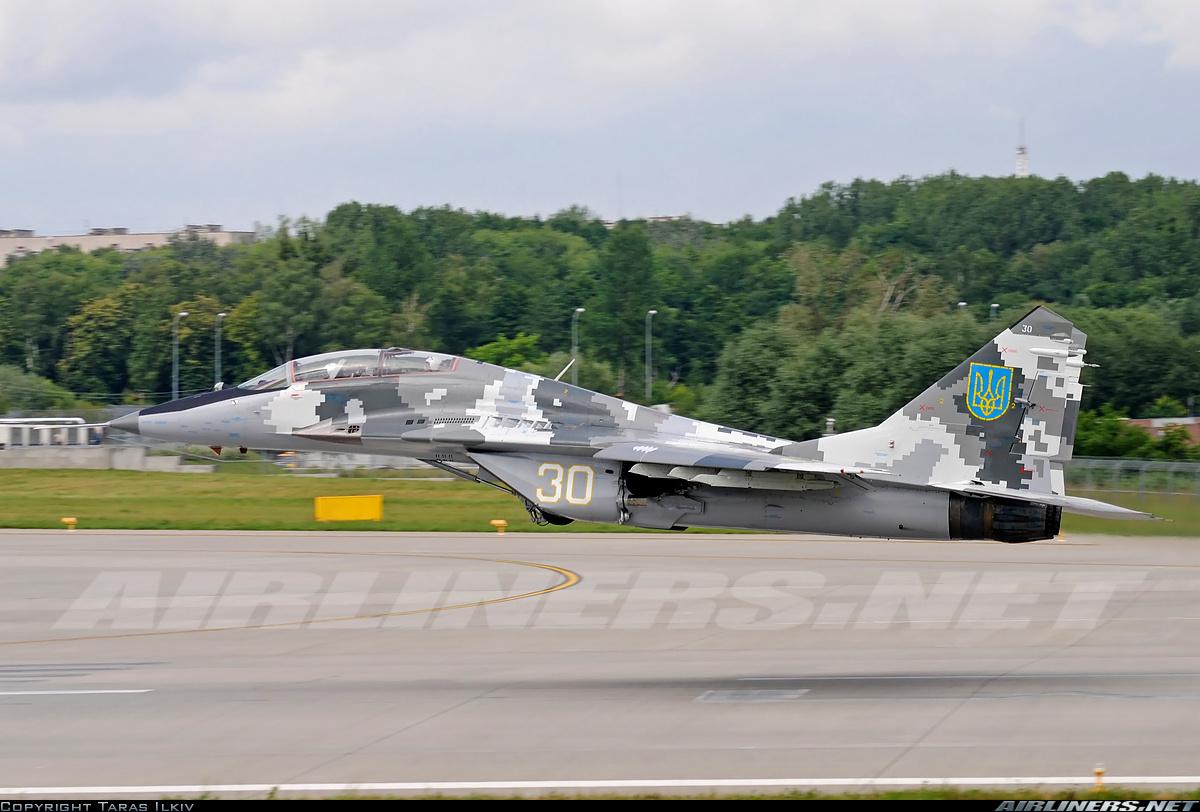 МиГ-29 ВС Украины (с) www.airliners.net