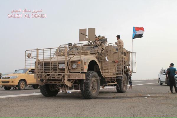 Oshkosh M-ATV под флагом Южного Йемена