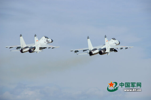 First Photos of Chinese Navy fighter F-11B 4