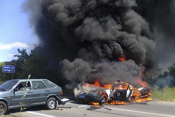 Мукачево, Западная Украина, 11 июля 2015 года Фото: AP