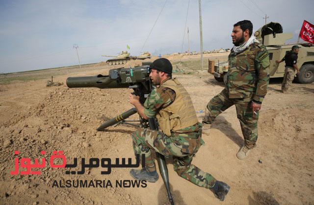"""Бойцы """"Организации Бадр"""" в районе Тикрита в марте 2015 из репортажа иракского телеканала """"аль-Сумария"""""""