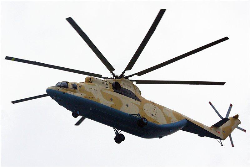 Второй Ми-26Т2 для Алжира