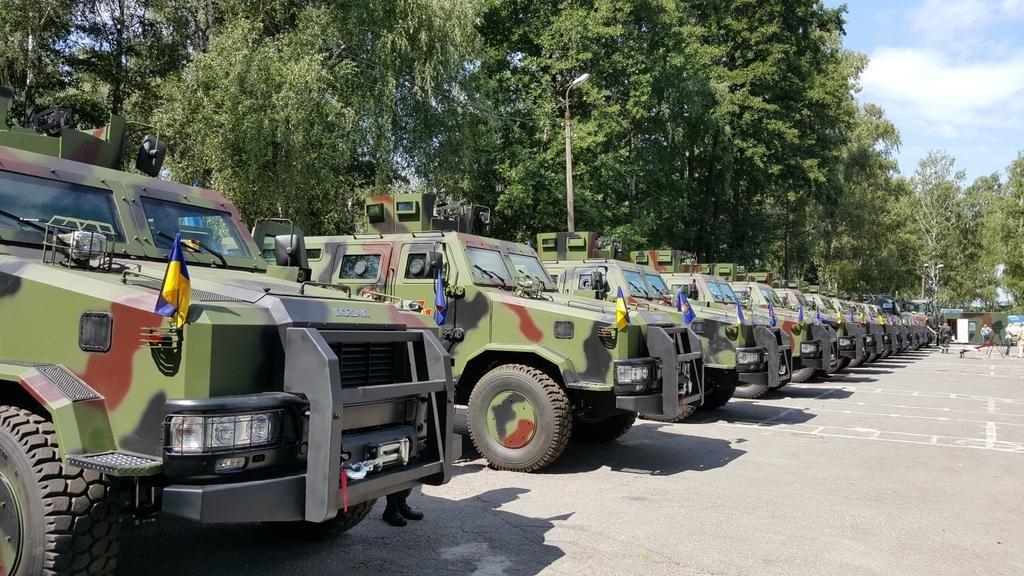 бронемашины Козак-2