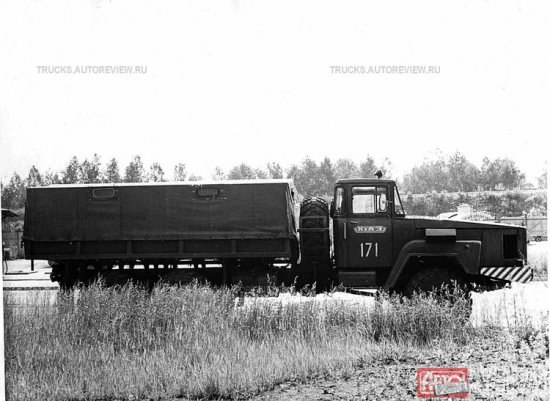 КрАЗ-Э260Е с газотурбинным двигателем