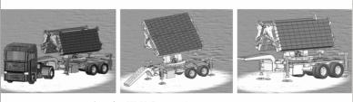 РЛС «МЕС-5» (ՄԵՍ-5) дециметрового диапазона.