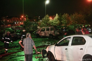 Место взрыва с Стамбуле