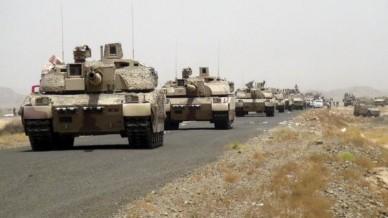 Танки Леклерк ВС ОАЭ в Южном Йемене